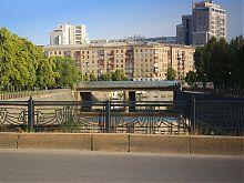 Купецький міст на річці Лопань в Харкові