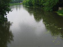 Річка Лопань в Харкові