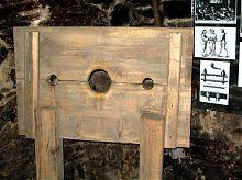 Орудие пыток в музее Каменец-Подольского магистрата