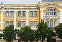 Центральный фасад харьковского Торгового банка