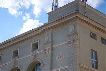 Бічний ризаліт центрального універмагу в Харкові