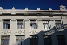 Декор крыльев харьковского Мечниковского института