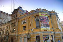 Південний фасад драматичного театру ім. Шевченко в Харкові