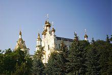 Завершение Озеряского храма Покровского монастыря
