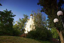 Західний фасад Озерянської церкви Покровського храму