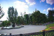 Покровський сквер в Харкові