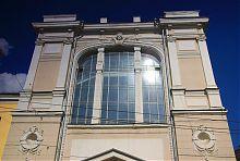 Верхний ярус юридического корпуса университета в Харькове