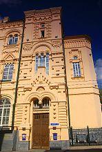 Правый ризалит центрального входа старого ломбарда в Харькове