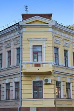 Кутовий ризаліт школи Х. Алчевської в Харкові