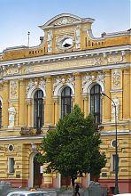 Центральний ризаліт Земельного банку Алчевського в Харкові
