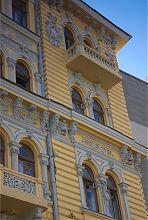 Північний ризаліт прибуткового будинку Гладкова на пл. Конституції Харкова