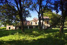 Західне крило палацу садиби Вільгів у Голобах