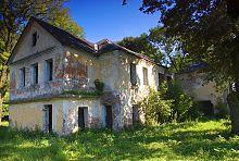 Північний фасад маєтку в Голобах