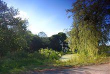 Большое озеро парка Вильгов в Голобах