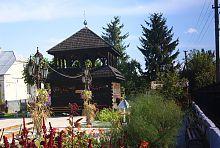 Колокольня Свято-Георгиевского храма в Голобах