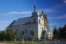 Северный фасад церкви святого Георгия Победоносца в Голобах