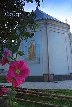 Апсида Свято-Георгиевского храма в Голобах