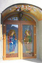 Центральный вход ковельского храма Благовещения Пресвятой Богородицы