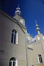 Северный фасад церкви Благовещения Пресвятой Богородицы в Ковеле