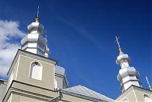 Купола ковельской Благовещенской церкви