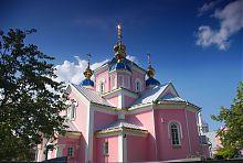 Апсида ковельского кафедрального собора Воскресения Господня