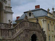 Парадная лестница львовского собора Святого Юра