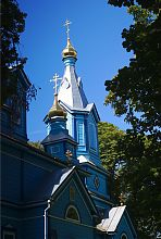 Дзвіниця над бабинцем Троїцької церкви в Олиці