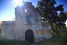 Надбрамний корпус фортеці в Олиці