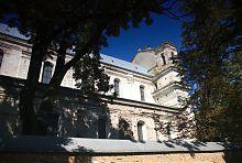 Східний неф Троїцького олицкого колегіального костелу