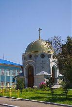 Центральный вход часовни во Владимир-Волынском