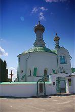Северный фасад Васильевской церкви Владимир-Волынского
