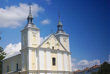 Центральний фасад костелу святих Іоакима і Анни у Володимир-Волинському