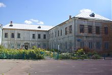 Південна частина колишнього монастирського комплексу василіан у Володимирі
