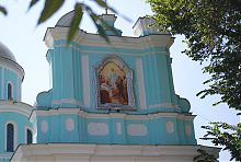 Киот главных врат Мстиславого храма Владимир-Волынского