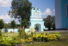 Внутрішній двір Успенського собору у Володимирі-Волинському