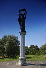 Памятник 2000-летию крещения Руси-Украины на месте внешней линии оборонных валов Владимира