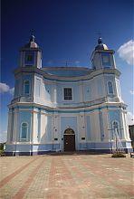 Центральний фасад кафедрального собора Рождества Христового во Владимир-Волынском