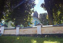 Западный фасад Стеренской церкви в Залесочье