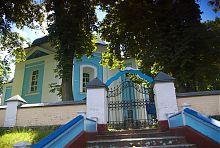 Северный фасад Сретенской церкви в Залесочье (бывшая Олыка)
