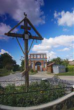 Луцькі ворота в Залісоче (колишня Олицька фортеця)