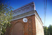 Південно-західний фасад Луцької брами в Залесочье