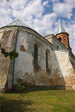 Апсида Троицкого костела в Затурцах