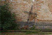 Главный крест Троицкого костела