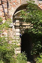 Входной портал бастионного каземата Бродовского замка