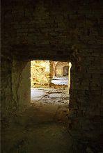 Казематная анфилада замка в Бродах