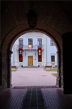 Въездная арка Збаражского замка