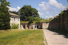 Восточная куртина замка в Бродах
