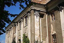 Західне крило-ризаліт палацу Потоцьких в Бродах