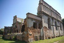 Руины западной пристройки иудейского храма в Бродах