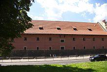 Восточный фасад львовского Городского арсенала